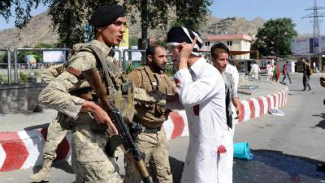 Mindestens 80 Tote bei IS-Doppelanschlag in Kabul