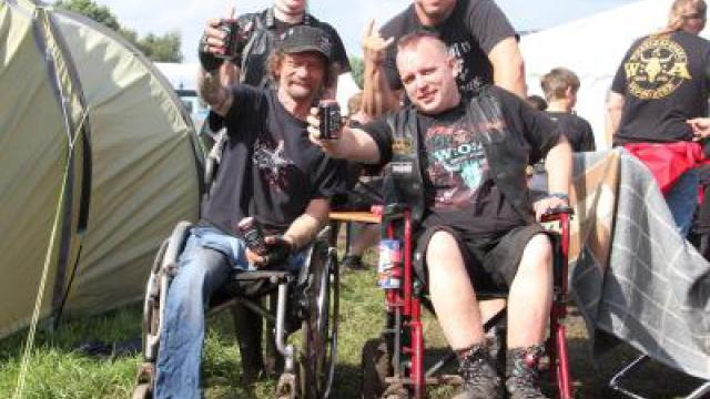 Headbanger mit Handicap in Wacken