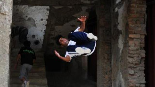 Parkour in Kabul
