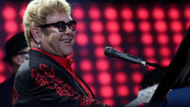 Apple Music Festival mit Elton John und Robbie Williams