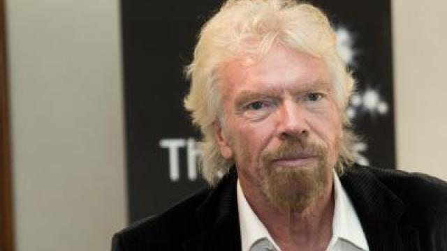 Milliardär Branson bei Start-up-Festival Bits & Pretzels