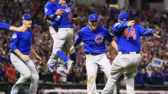 Chicago Cubs gewinnen Baseball-World-Series