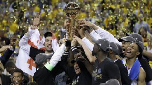 Golden State Warriors holen NBA-Titel