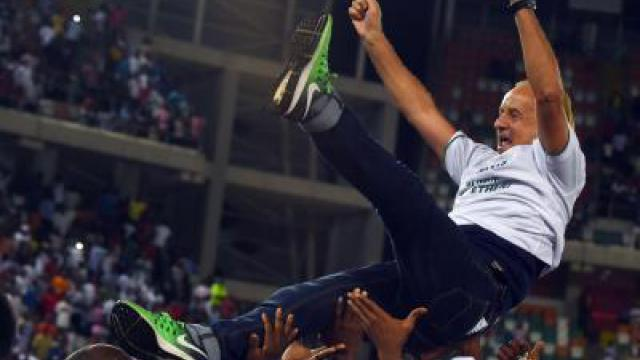 Trainer Rohr nun Volksheld in Nigeria