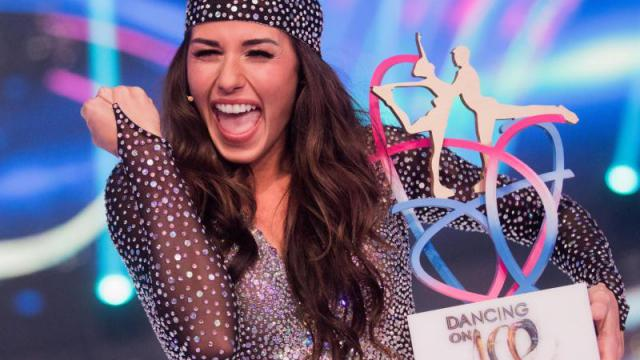 "Sarah Lombardi siegt bei ""Dancing on Ice"""