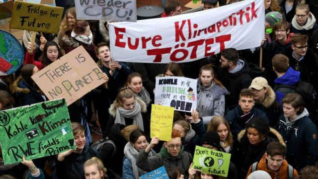 """""""Fridays for Future""""-Protest in Elmshorn"""