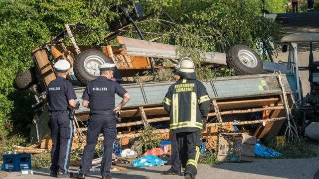 Unfall in Egmating