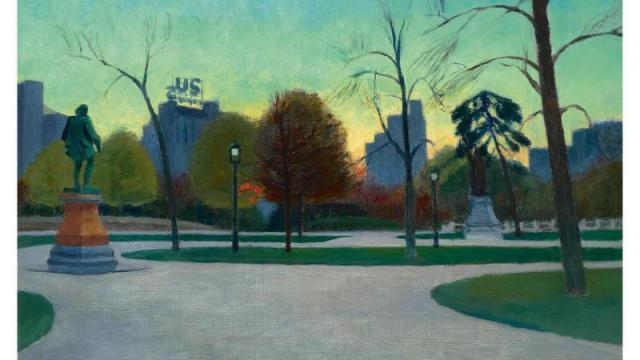 """Shakespeare at Dusk"" von Edward Hopper"