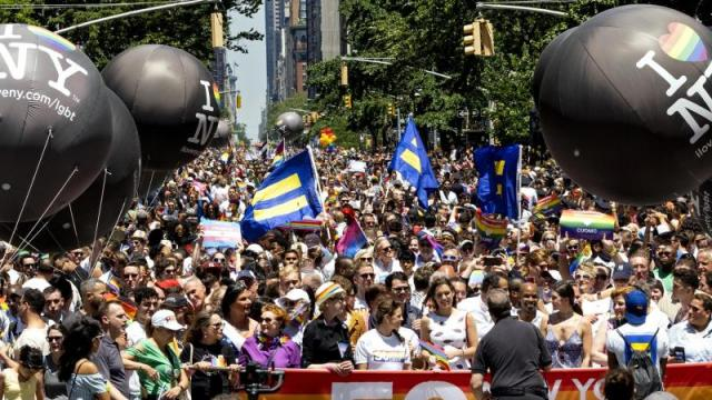 """Pride March"" in New York"