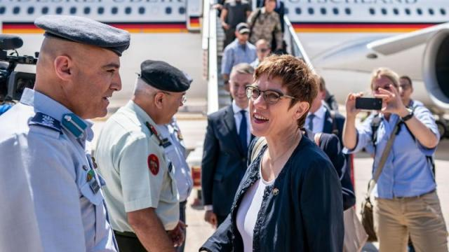 Kramp-Karrenbauer in Jordanien